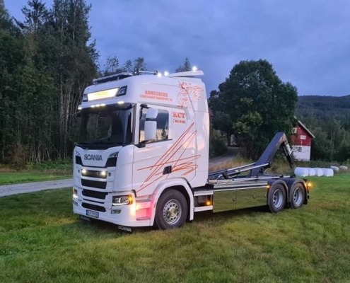 Scania R540 (KCT 157)